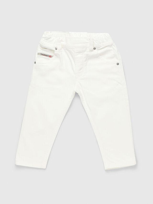 Diesel - KROOLEY-JOGGJEANS-B-N, Weiß - Jeans - Image 1