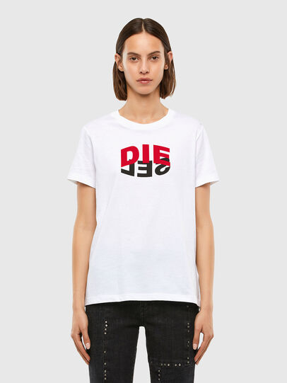 Diesel - T-SILY-V23, Weiß - T-Shirts - Image 1