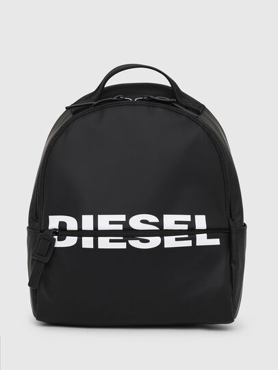 Diesel - F-BOLD BACK FL, Brillantschwarz - Rucksäcke - Image 1
