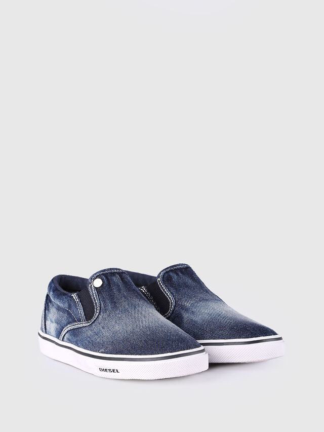 KIDS SLIP ON 21 DENIM CH, Jeansblau - Schuhe - Image 2