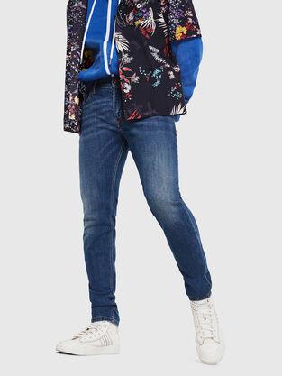 Sleenker 069AJ, Mittelblau - Jeans