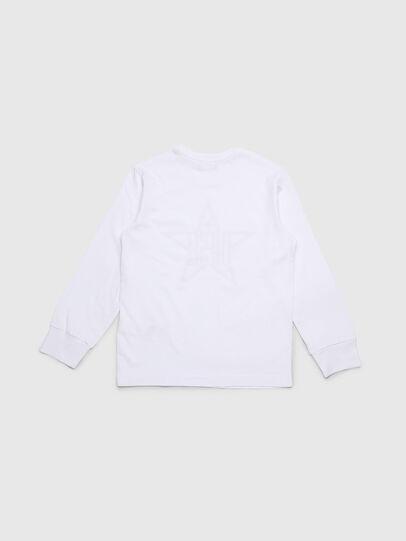 Diesel - TDIEGOYH-ML, Weiß - T-Shirts und Tops - Image 2