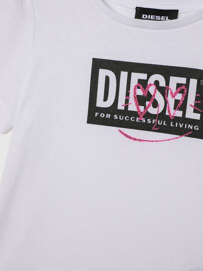 Diesel - TRIDGEB-R, Weiß - T-Shirts und Tops - Image 3