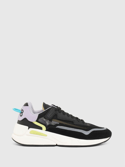 Diesel - S-SERENDIPITY SM W, Schwarz/Violett - Sneakers - Image 1