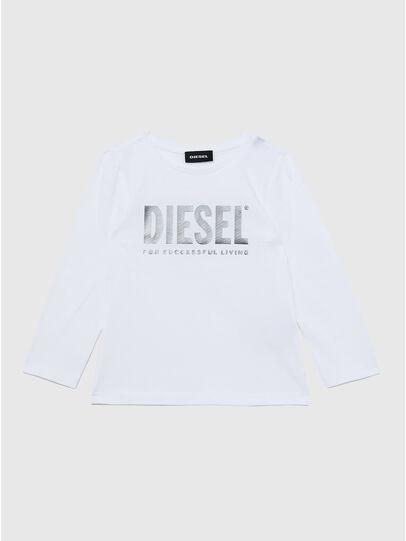 Diesel - TRASSYB-R, Weiß - T-Shirts und Tops - Image 1