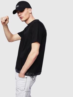 T-GLASSY, Schwarz - T-Shirts
