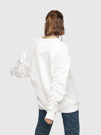 Diesel - F-ARAP, Weiß - Sweatshirts - Image 2