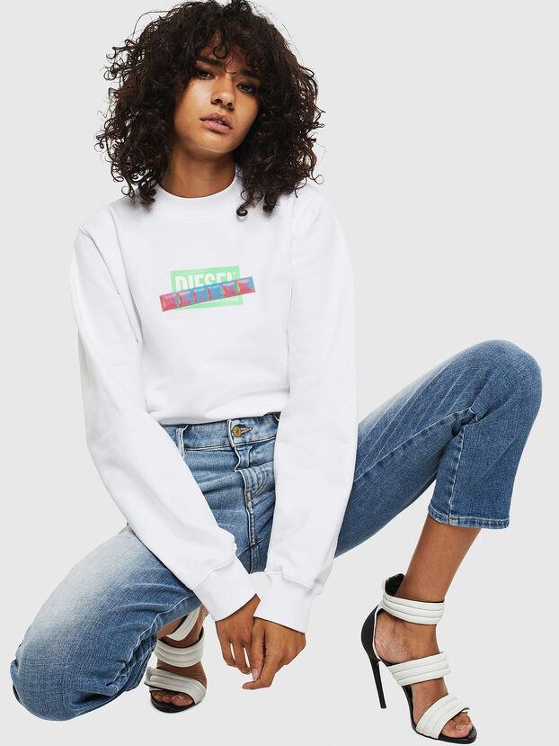 F-ANG-S1, Weiß - Sweatshirts