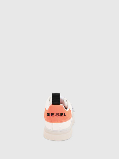 Diesel - S-CLEVER LOW STRAP W, Weiß/Rosa - Sneakers - Image 4