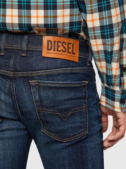 Diesel - Sleenker 09A43, Dunkelblau - Jeans - Image 4