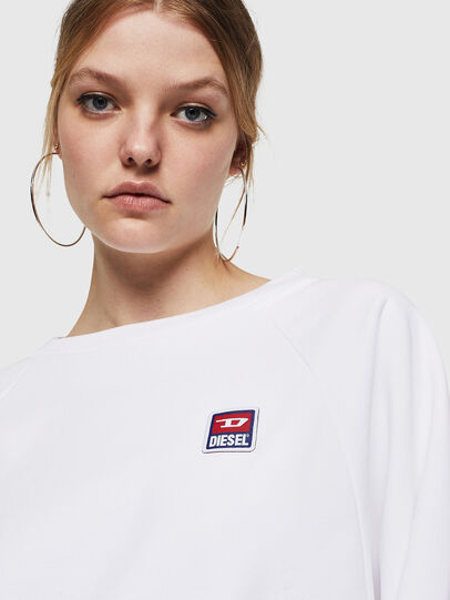 Diesel - F-HENNY-E, Weiß - Sweatshirts - Image 3