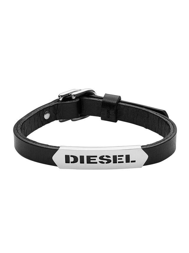 Diesel BRACELET DX0999, Schwarz - Armbänder - Image 1
