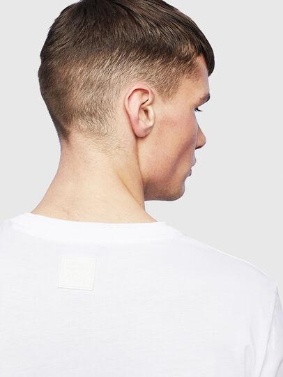 Diesel - T-HUSTY-LS, Weiß - T-Shirts - Image 7