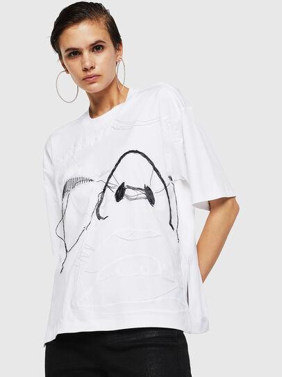 Diesel - TELIX, Weiß - T-Shirts - Image 1