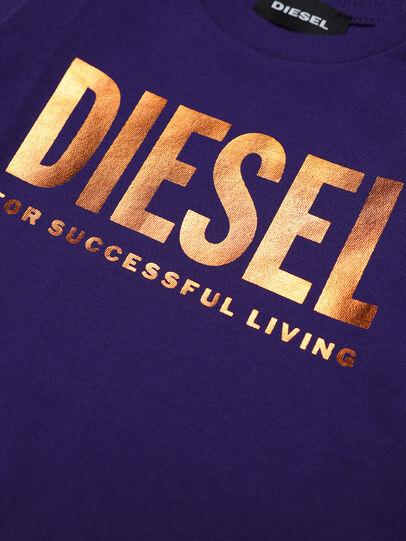 Diesel - TJUSTLOGOB-FL ML, Violett - T-Shirts und Tops - Image 3
