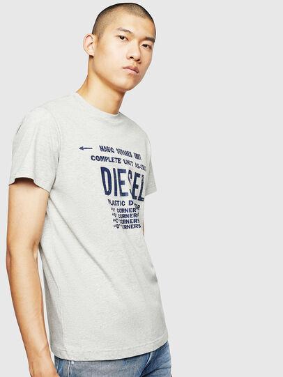 Diesel - T-DIEGO-B6, Hellgrau - T-Shirts - Image 1