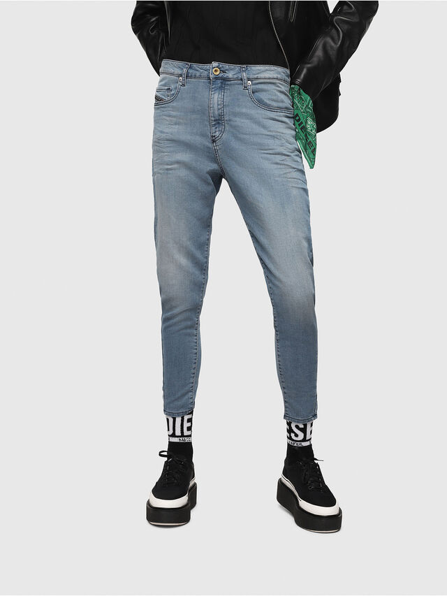Diesel - Candys JoggJeans 069FF, Mittelblau - Jeans - Image 1
