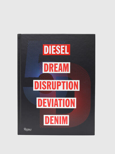 Diesel - 5D Diesel Dream Disruption Deviation Denim, Schwarz - Bücher - Image 3