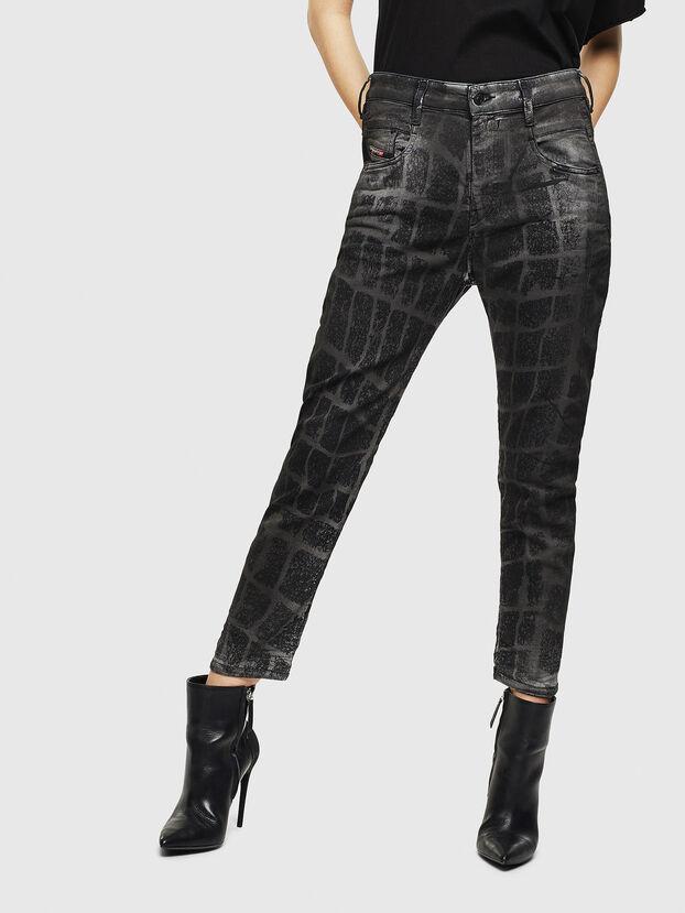 Fayza JoggJeans 0094M, Schwarz/Dunkelgrau - Jeans
