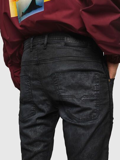 Diesel - Krooley JoggJeans 069GP, Schwarz/Dunkelgrau - Jeans - Image 5