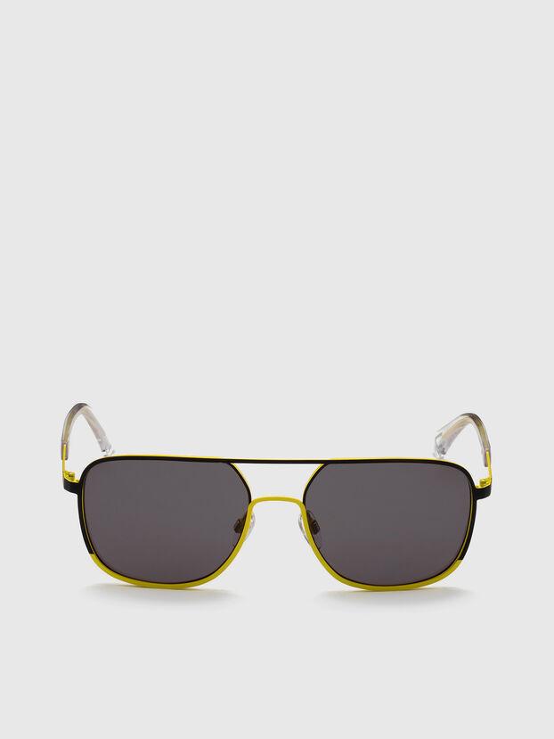DL0325, Schwarz/Gelb - Sonnenbrille