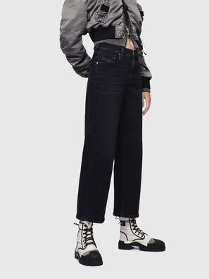 Widee 084HQ, Schwarz/Dunkelgrau - Jeans