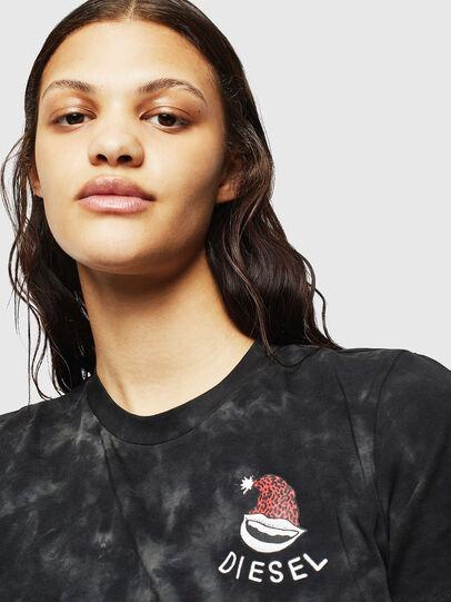 Diesel - UFTEE-ROUNDIE, Schwarz - T-Shirts - Image 3