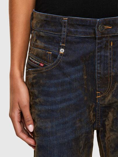 Diesel - Fayza 069RQ, Blau/Gelb - Jeans - Image 3