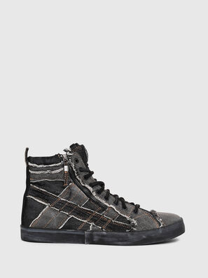 D-VELOWS MID LACE, Jeansgrau - Sneakers