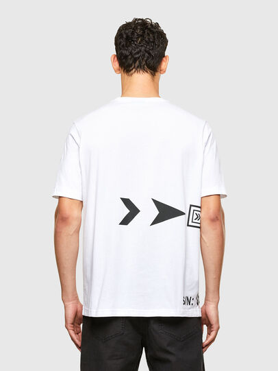 Diesel - T-JUST-A42, Weiß - T-Shirts - Image 2