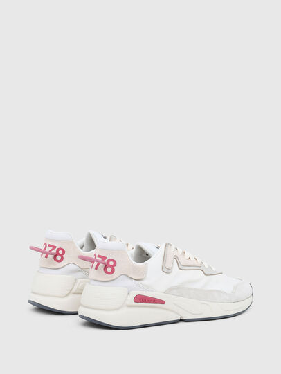 Diesel - S-SERENDIPITY LC W, Weiss/Rosa - Sneakers - Image 3