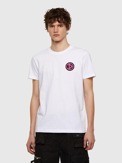 Diesel - T-DIEBIND-E1, Weiß - T-Shirts - Image 1