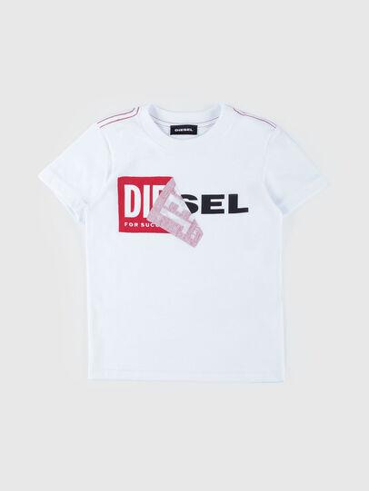 Diesel - TOQUEB MC-R, Weiß - T-Shirts und Tops - Image 1