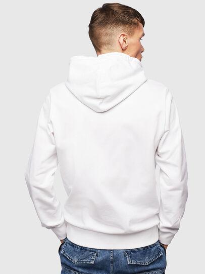 Diesel - S-GIRK-HOOD-S1, Weiß - Sweatshirts - Image 3