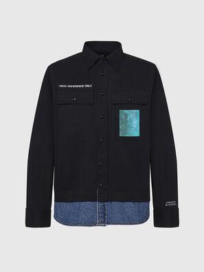 S-DUSTIN, Schwarz - Hemden