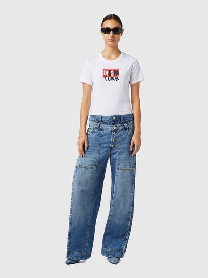 Diesel - D-Laly 0AFAM, Mittelblau - Jeans - Image 5