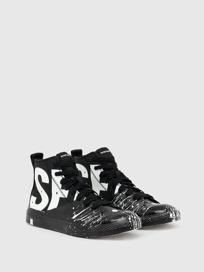 Diesel - S-ASTICO MC, Schwarz/Weiss - Sneakers - Image 2