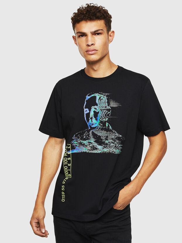 T-JUST-J12, Schwarz - T-Shirts