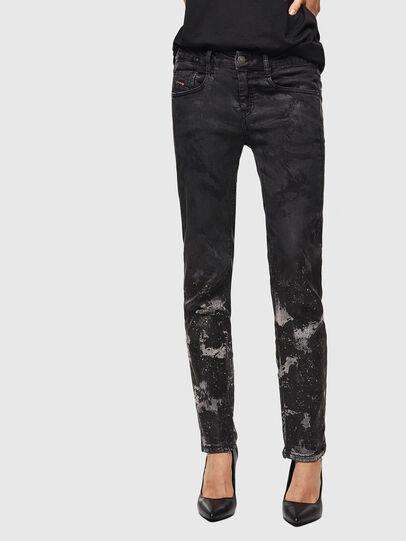 Diesel - D-Ollies JoggJeans 084AZ, Schwarz/Dunkelgrau - Jeans - Image 1