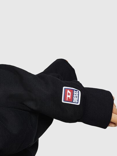 Diesel - F-ARAP-A, Schwarz - Sweatshirts - Image 3