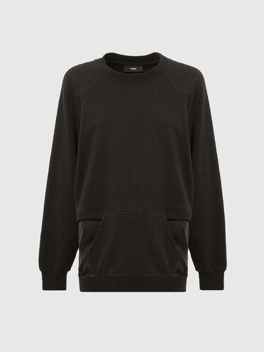 Sweatshirt mit Reißverschlussöffnung