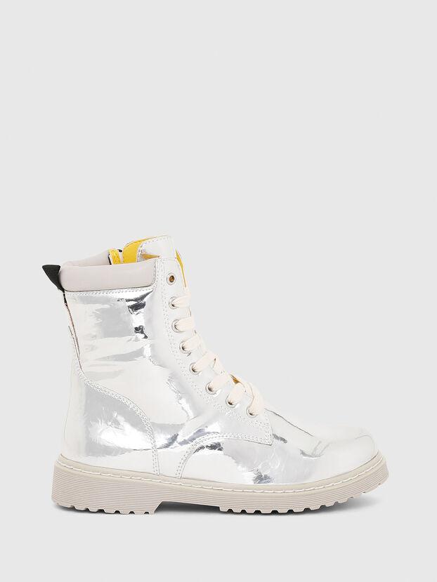 HB LACE UP 04 YO, Silber - Schuhe