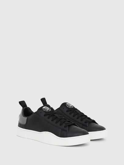Diesel - S-CLEVER LOW LACE, Schwarz/Silber - Sneakers - Image 2