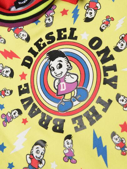Diesel - DISSAB, Schwarz/Gelb - Kleider - Image 3