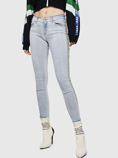Diesel - Slandy 0090E, Hellblau - Jeans - Image 1