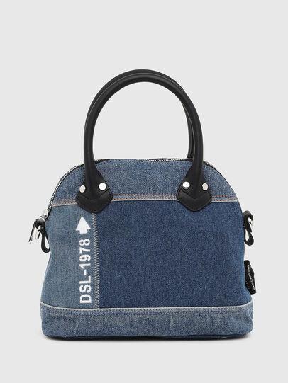 Diesel - PYANIGA M, Jeansblau - Satchel Bags und Handtaschen - Image 1