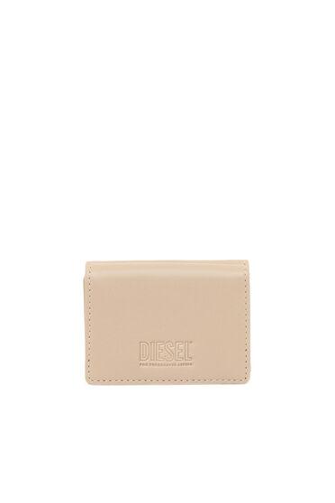 Dreifach faltbares Portemonnaie aus Kunstnappaleder