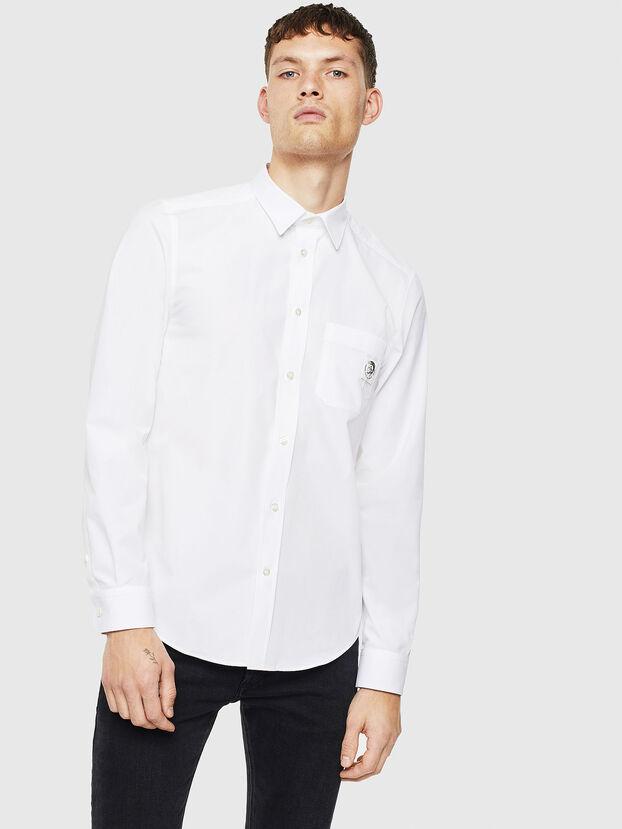 S-BILL-POCKET, Weiß - Hemden