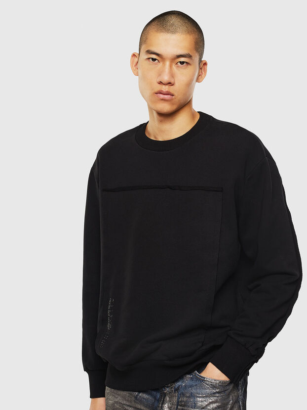 S-BAY-RAW, Schwarz - Sweatshirts