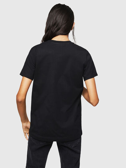 Diesel - T-SILY-ZF, Schwarz - T-Shirts - Image 2